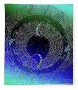 Bubbles In The Cosmos Fleece Blanket