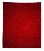 Bubbles Fleece Blanket