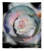 Bubbles Of Love Fleece Blanket