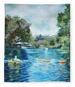 Bucaneer Bay Tubing Fleece Blanket