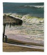 Bucerias Beach Mexico  Fleece Blanket