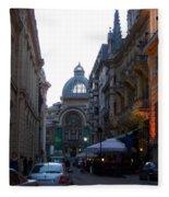 Bucharest 2 Fleece Blanket