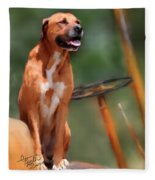 Buck Fleece Blanket