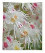 Ohio Buckeye Blooms Fleece Blanket