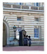 Buckingham Palace Guards Fleece Blanket