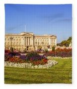 Buckingham Palace, London, Uk. Fleece Blanket