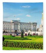 Buckingham Palace Sunny Day Fleece Blanket