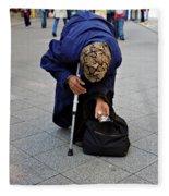 Budapest Beggar Fleece Blanket