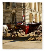 Vienna Buggy Man Fleece Blanket