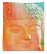 Buddah Glow Fleece Blanket
