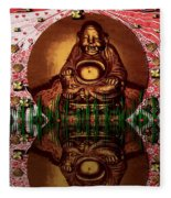 Buddha Garden Fleece Blanket