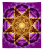 Buddha Mandala Fleece Blanket