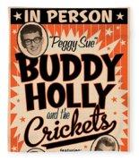 Buddy Holly Fleece Blanket