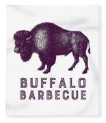 Buffalo Barbecue Fleece Blanket