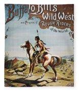 Buffalo Bills Show Poster Fleece Blanket
