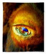 Buffalo Eye Fleece Blanket