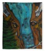 Buffalo Falls -033 Fleece Blanket