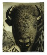 Buffalo Head Fleece Blanket