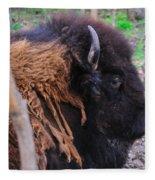 Buffalo Head Fleece Blanket