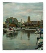 Buffalo New York Fleece Blanket