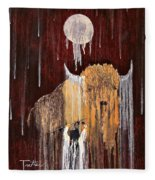 Buffalo Spirit Fleece Blanket