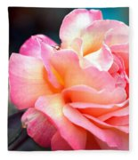 Buffum Rose Fleece Blanket