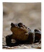 Bufo Bufo 2 Fleece Blanket
