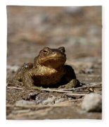 Bufo Bufo Fleece Blanket