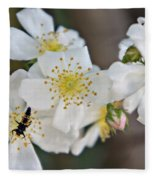 Bugaboo Apple Blossoms Fleece Blanket
