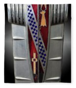 Buick Grill Emblem Fleece Blanket
