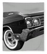 Buick Wildcat 1968 Fleece Blanket