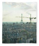 Building Paris Fleece Blanket