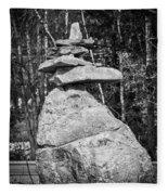 Building Rocks Fleece Blanket
