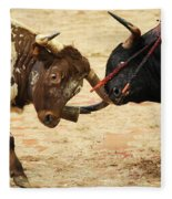 Bull Fight Fleece Blanket