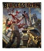 Bulletstorm Fleece Blanket