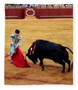 Bullfighting 21 Fleece Blanket