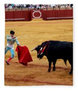 Bullfighting 22 Fleece Blanket
