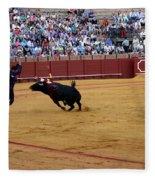 Bullfighting 35 Fleece Blanket
