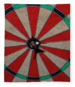 Bulls Eye Fleece Blanket
