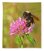 Bumble Bee Fleece Blanket