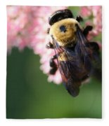 Bumble From Above Fleece Blanket
