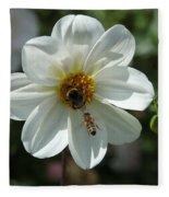 Bumblebee And Bee Fleece Blanket
