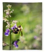 Bumblebee Fleece Blanket