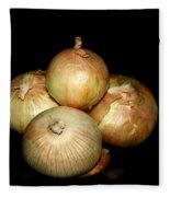 Bunch Of Onions Fleece Blanket