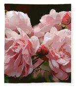 Bunch Of Roses Fleece Blanket