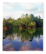 Bundek Park Zagreb Fleece Blanket