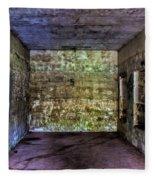 Bunker Walls Fleece Blanket