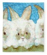 Bunnies Fleece Blanket