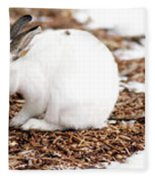 Bunnies Three Fleece Blanket