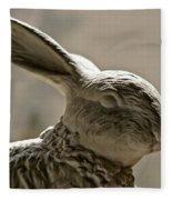 Bunny Fleece Blanket